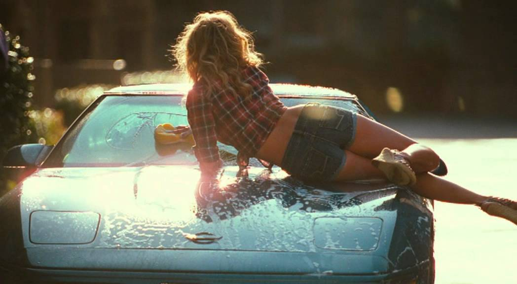 Auto madchen waschen heie sexy nackte