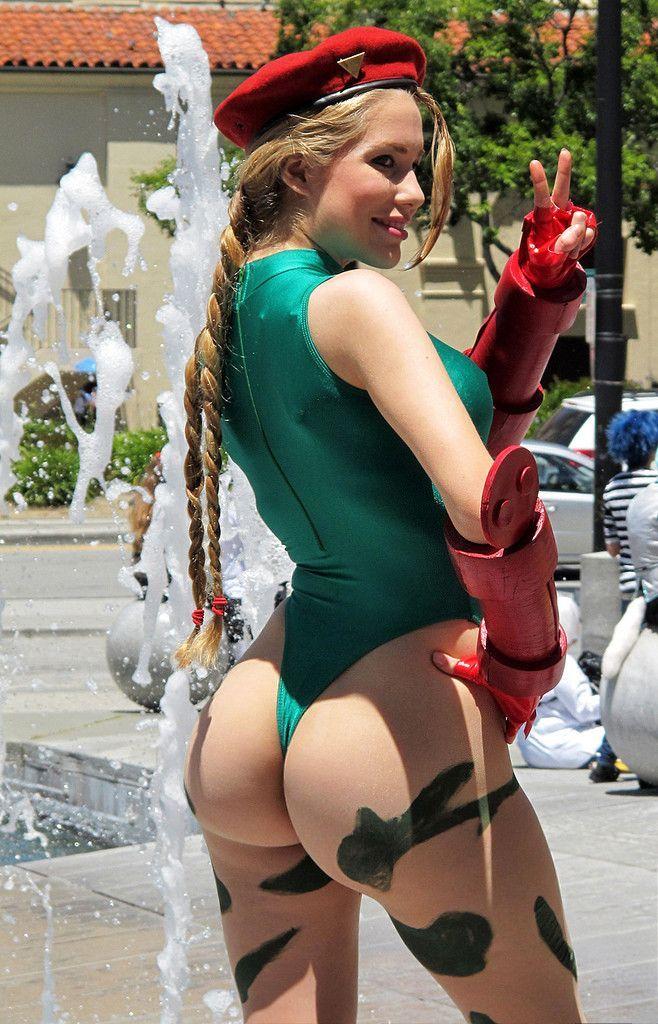 Fighter nude cosplay girls street