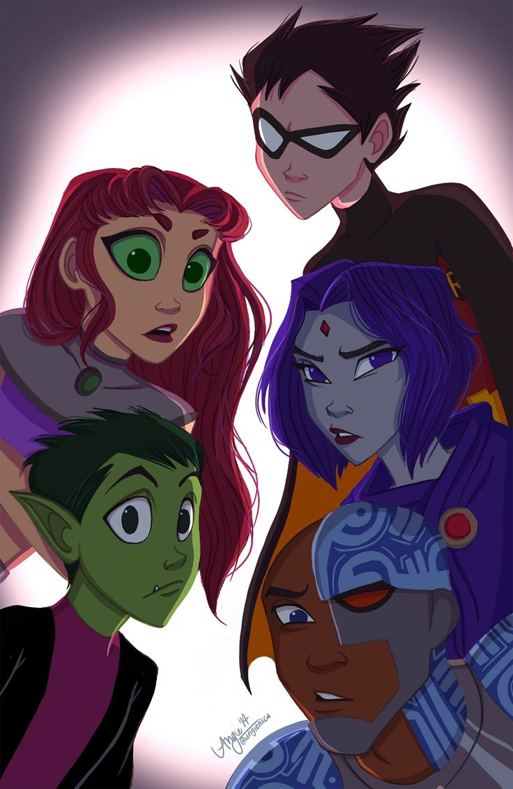 Starfire fan fiction lesbische raven
