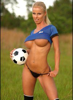 Moms soccer busty hot blonde