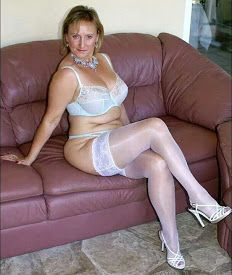 Michelle s nylons beine reif