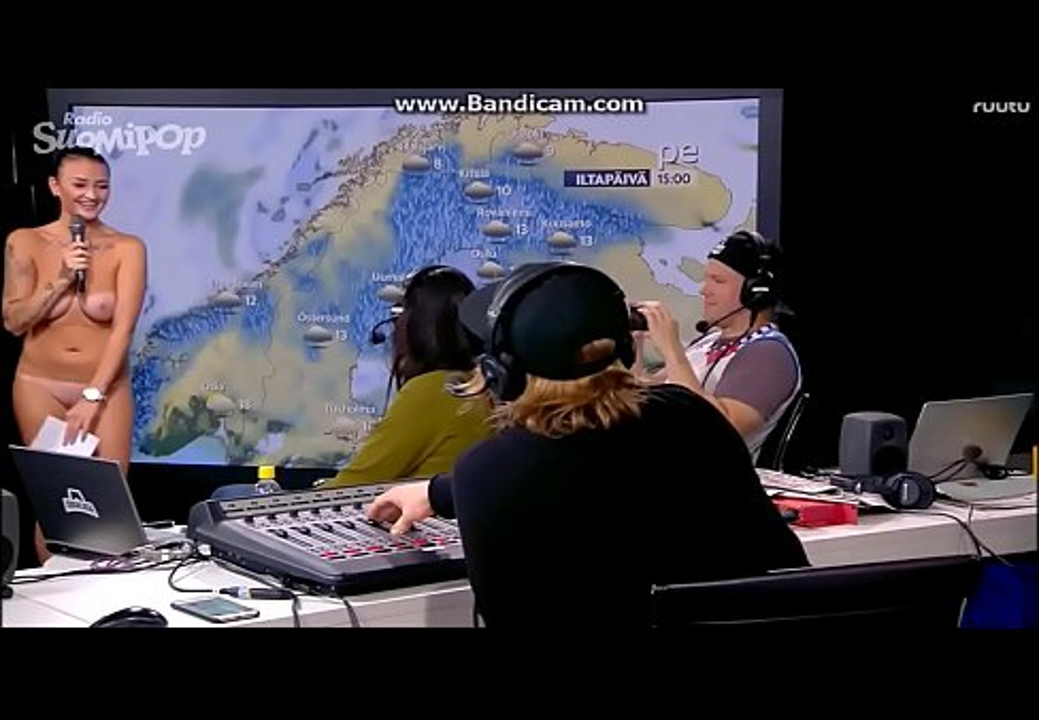 Nackt girls amerikanischen channel weather