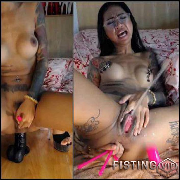 Anal und squirt big tits
