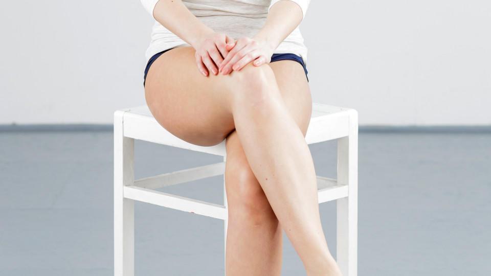 Beine nackt schone offnen madchen