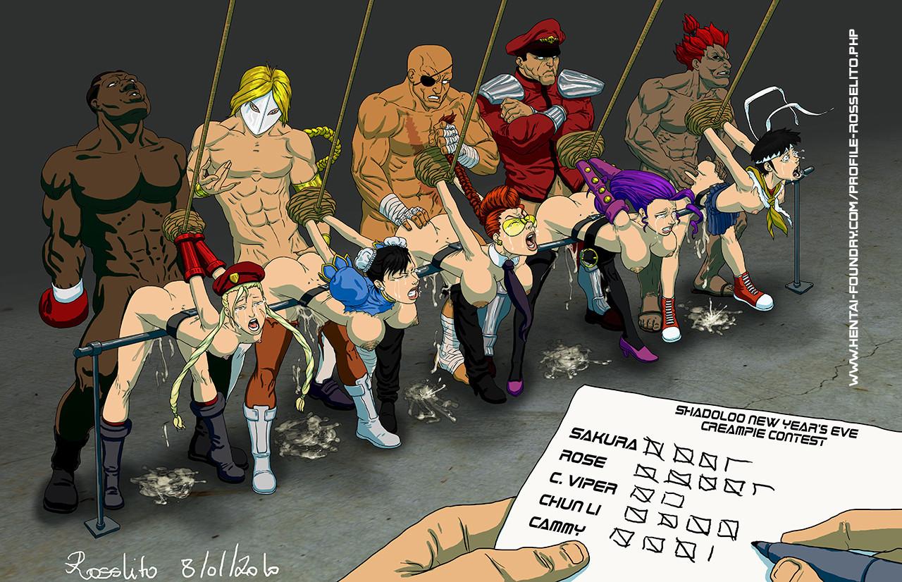 Rose hentai fighter comic street