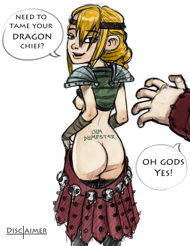 To train your hentai how dragon astrid
