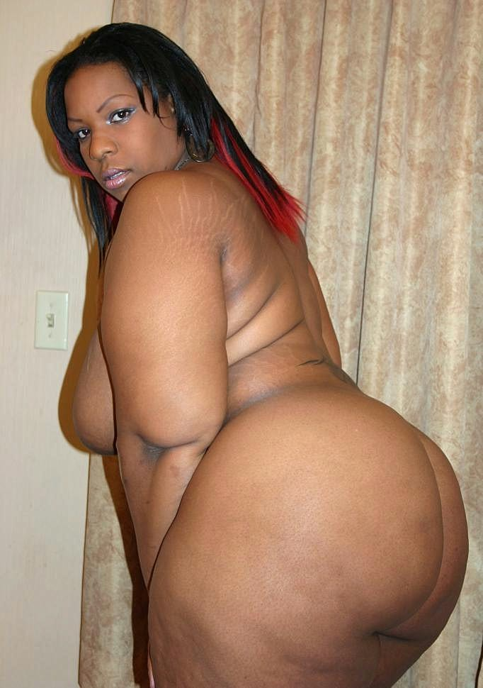 Clear crystal booty big bbw black