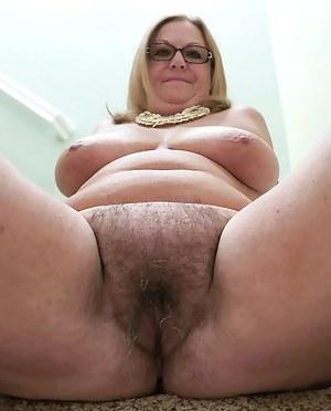 Big fat pussy granny mature