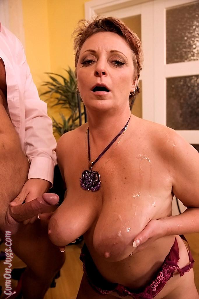 Tit sex party cumshot big